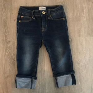 Hudson cropped jeans• 3T 💙